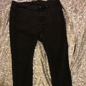 Refuge Plus Size Black Jeans Size 21